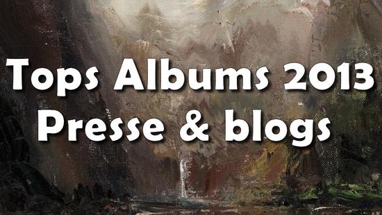 top-2013-press Les Tops albums 2013 de la presse, des blogs & webzines