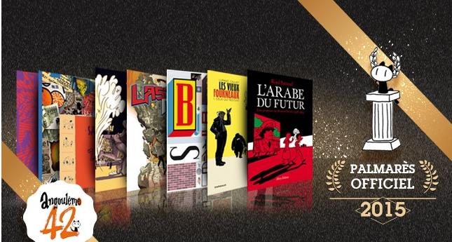 palmares-angouleme-2015 Le palmarès complet du festival de la BD d'Angoulême 2015