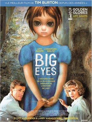 big-eyes-affiche-film Big Eyes, un film de Tim Burton