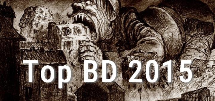 Top Bandes dessinées 2015 HOP BLOG