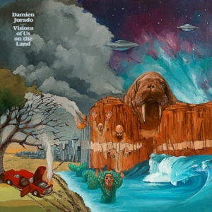 cover album Damien Jurado - Visions Of Us On The Land