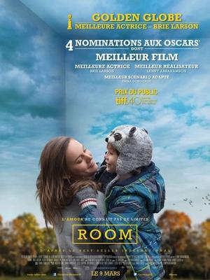 affiche-room Room, film de Lenny Abrahamson - Critique