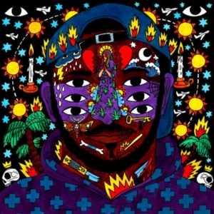 KAYTRANADA - 99.9% cover album
