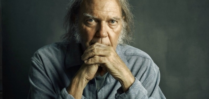 Neil Young by Matt Furman for the Wall Street Journal
