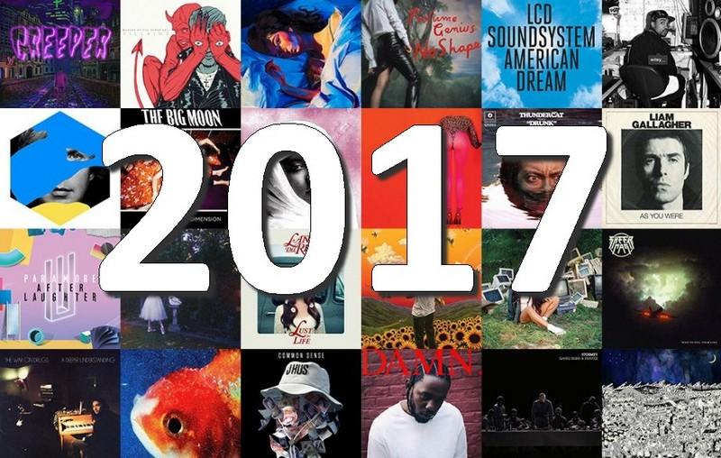 2017 Tops Albums 2017 de la presse, des blogs et des webzines