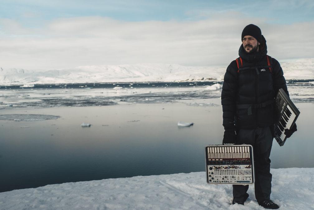 Molecule-instruments Molécule sort un album de techno composé au Groenland par - 22.7°C