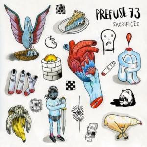 prefuse-73-sacrifices-300x300 Les sorties d'albums pop, rock, electro, rap, jazz du 25 mai 2018