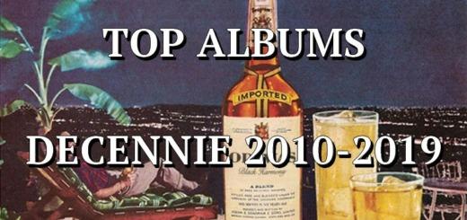 top albums 2010 - 2019