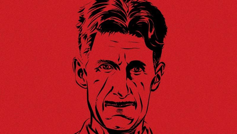 orwell-dargaud George Orwell - Christin & Verdier  (Dargaud, 2019)