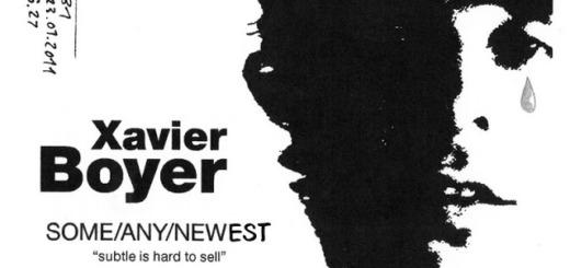 Xavier Boyer – Owner's Manual