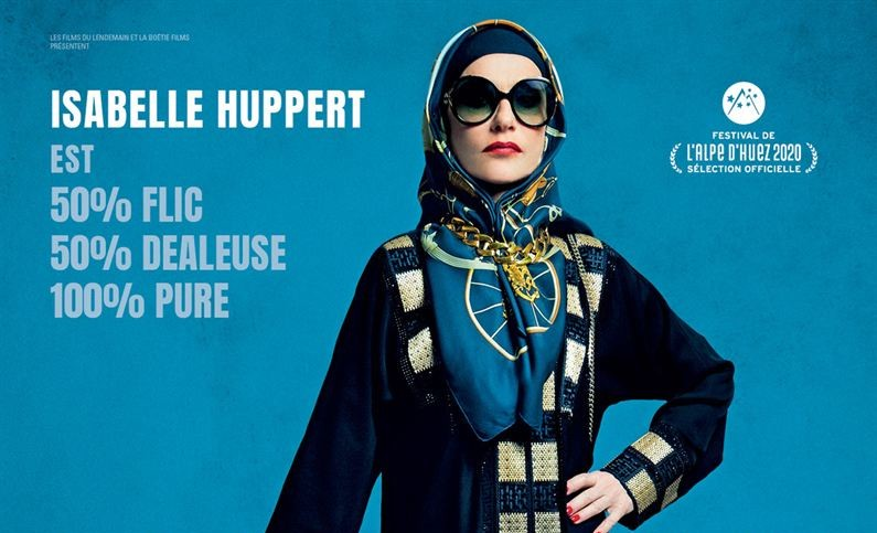 """la-daronne """"La Daronne"""" : Isabelle Huppert à l'aise avec les valises marocaines"""