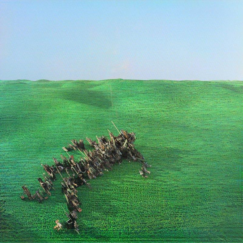 Squid-Bright-Green-Field Squid – Bright Green Field