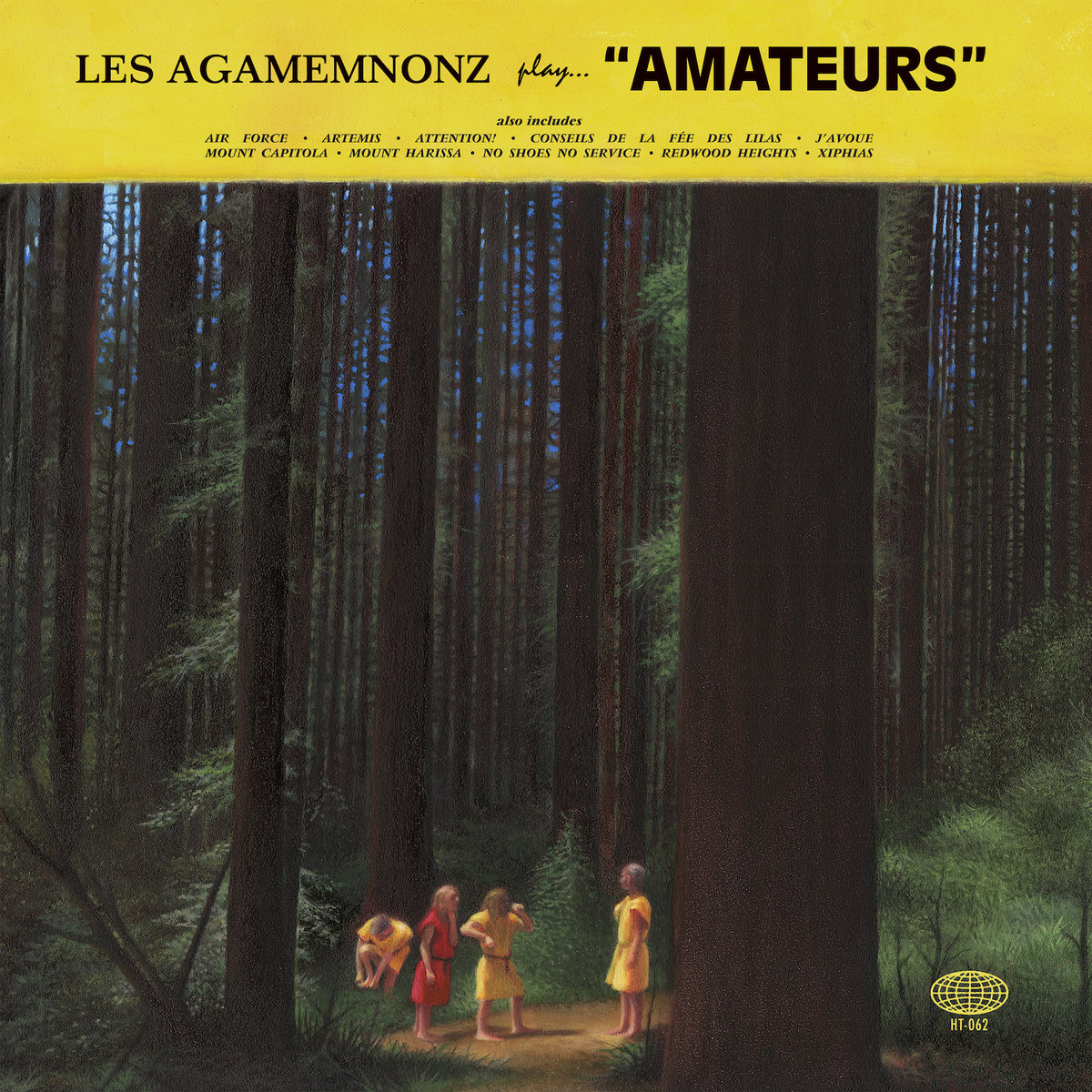 Les-Agamemnonz-Amateurs Les Agamemnonz - Amateurs